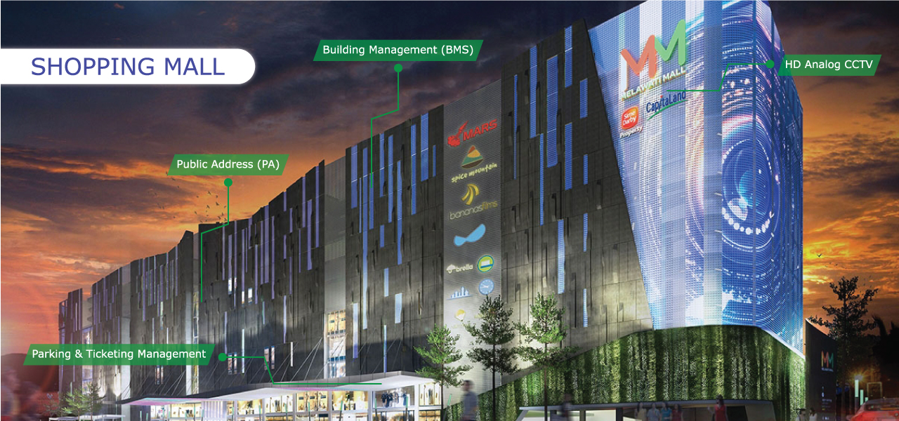 Shopping Mall Building Control Automation
