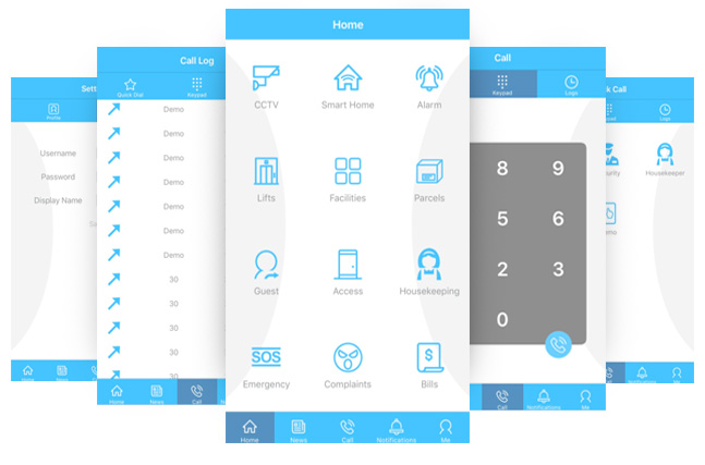 VYROX Autoserva Smart Home App
