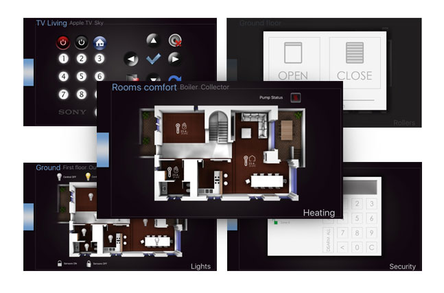 VYROX 3D Smart Home App