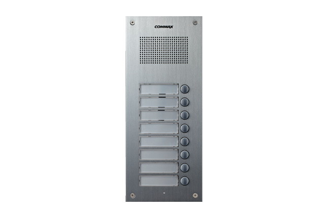 Audio Intercom - MULTI BUTTON AUDIO UNIT DR-8UM
