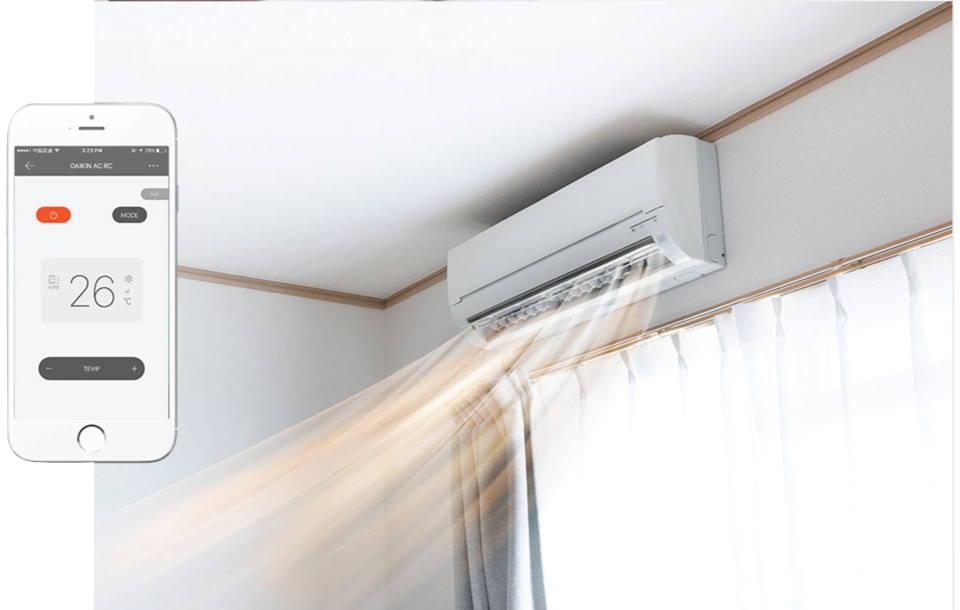 Control air conditioners