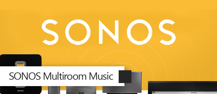 VHOME Smart Home Sonos multi room music integration