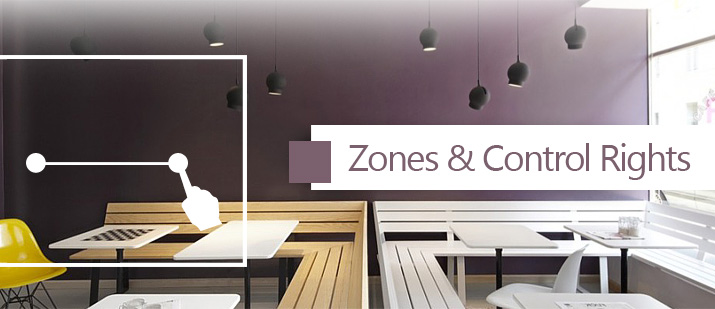 VHOME Smart Home multiple zone design