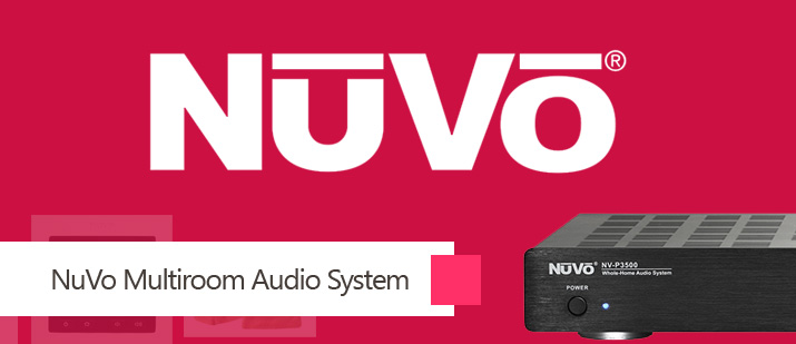 VHOME Smart Home Nuvo multi room music integration