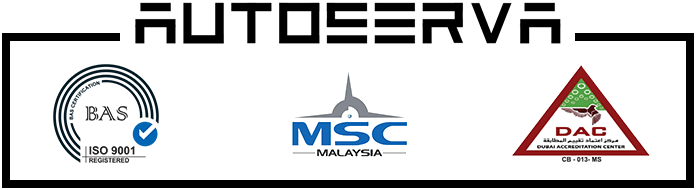 Autoserva MSC Technology Malaysia with DAC Dubai International ISO BAS