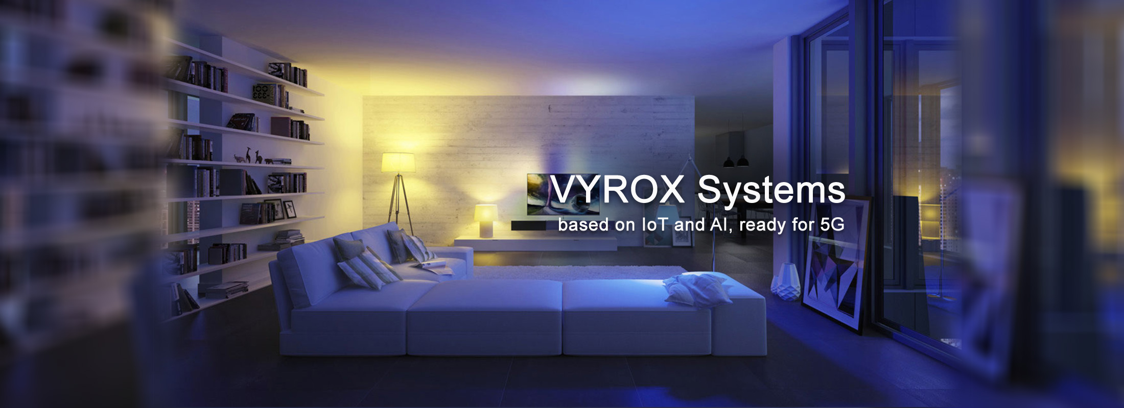 VYROX Systems based on IOT and AI, ready for 5G Technology
