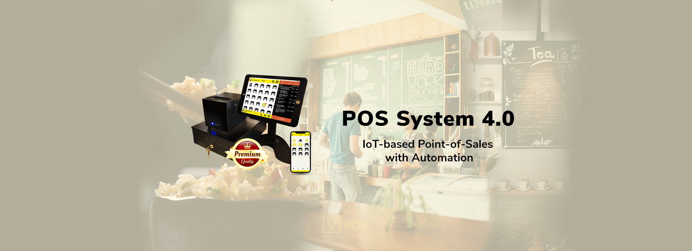 POSERVA POS SYSTEM (Point-of-Sale), 100% free POS software