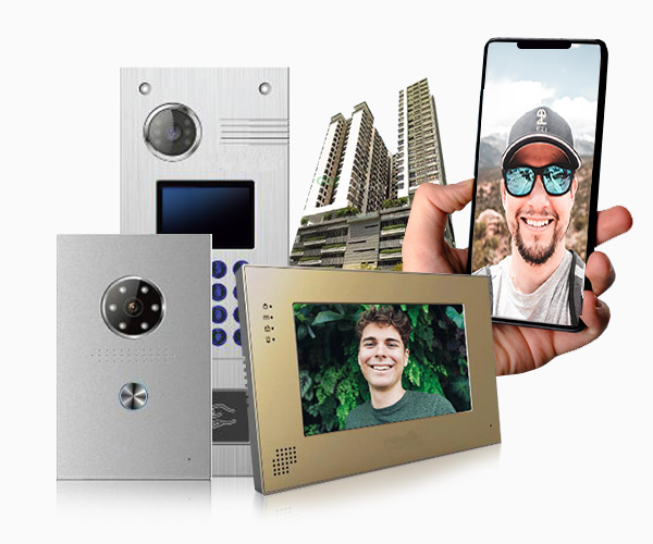 Latest audio and video intercom products for your houses