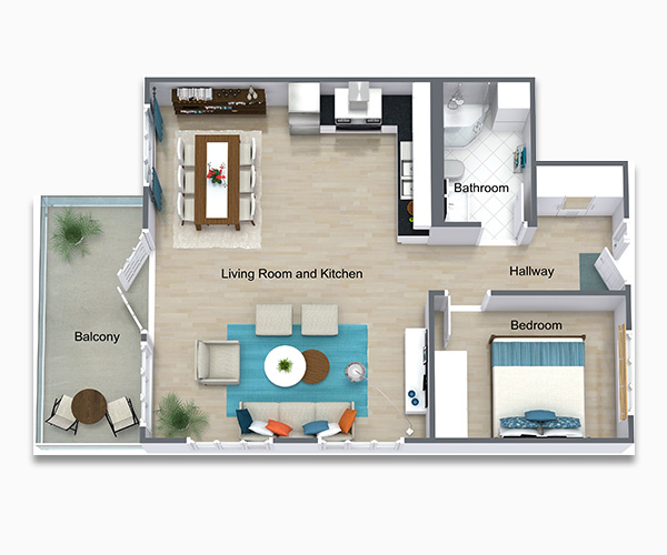 Ultimate Smart System with 3D Custom Floorplan provided