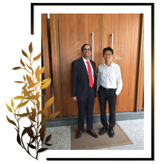 VYROX Patrick taking photo with Mr. Ganesh today!