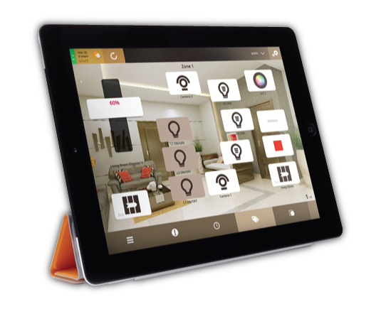 VHOME Smart Home using Apple iPad